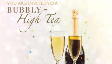 A Bubbly High Tea