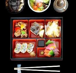 Bento Box at Miyako