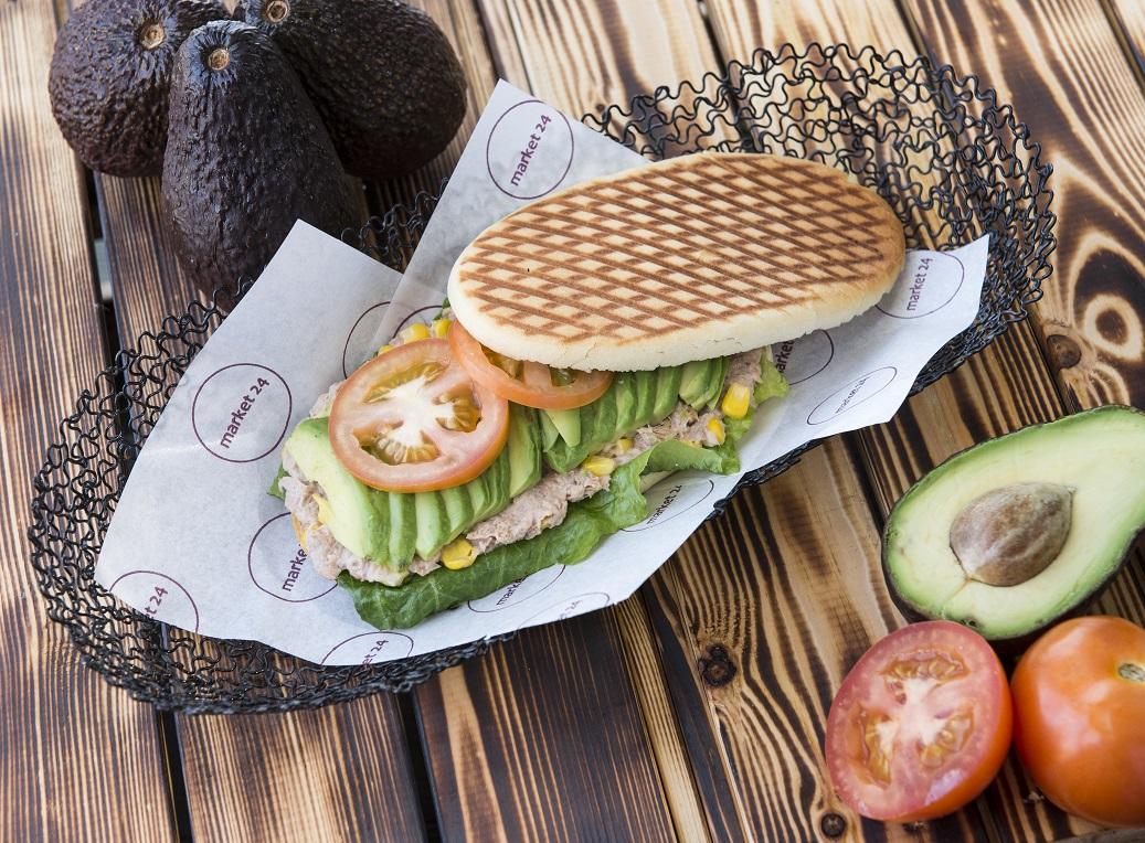 Tuna & Sweet Corn Sandwich