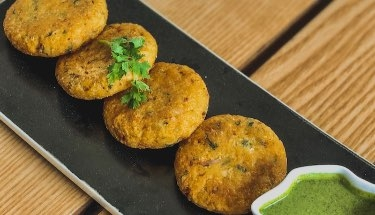 Rice & Vegetable Cutlets