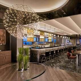 Интерьер коктейль-бара Oriental