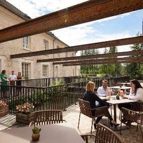 Le Condé terrace