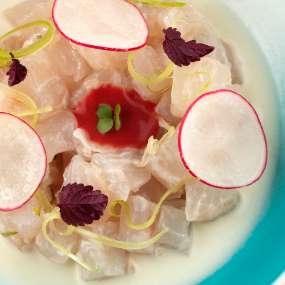 Seabass & Coconut Ceviche