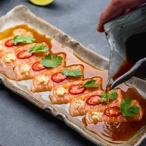 Тирадито из лосося