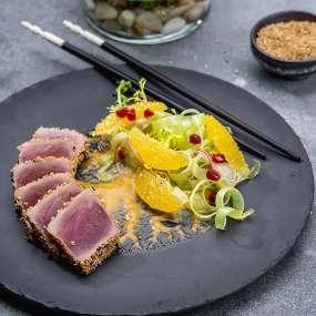 Салат тунец татаки