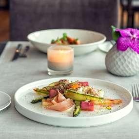 Das Motto der Küche heißt: saisonale Produkte aus der Region