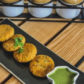 RICE AND VEGETABLE CUTLETS