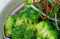 Poached Broccoli