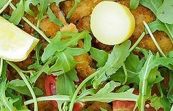"""""""Orecchia d'elefante"""" breaded crispy veal rack, lemon"""