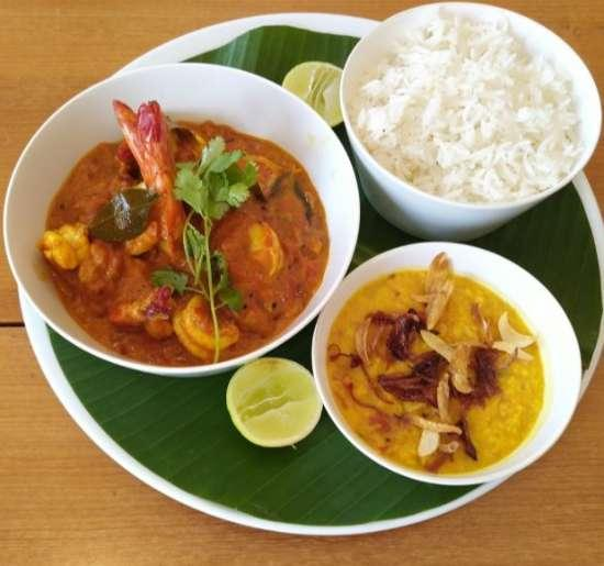 Malabar Shrimps Curry by Chef Senthil