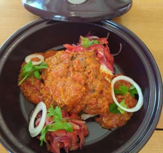 """Chicken """"Kuku Wa  Kupaka"""" by Chef Yussuf"""