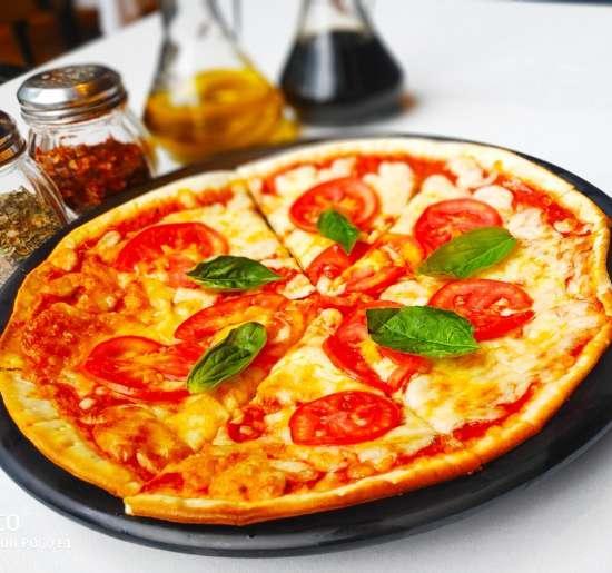 Classic Margarita pizza