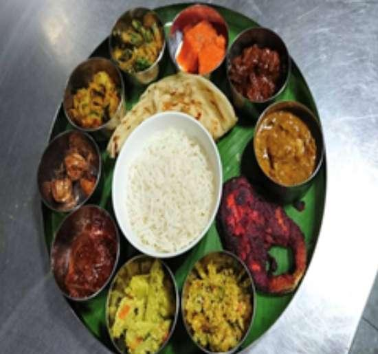 Chef signature south Indian thali