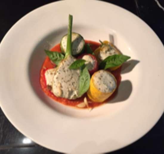 Ricotta stuffed vegetables